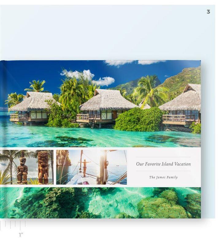 Picture of Photobook - LayFlatBook - Superia - 11.25 x 8 Landscape